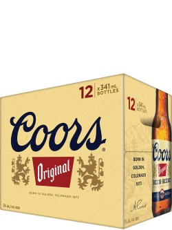 Coors Original 12 Pack Bottles