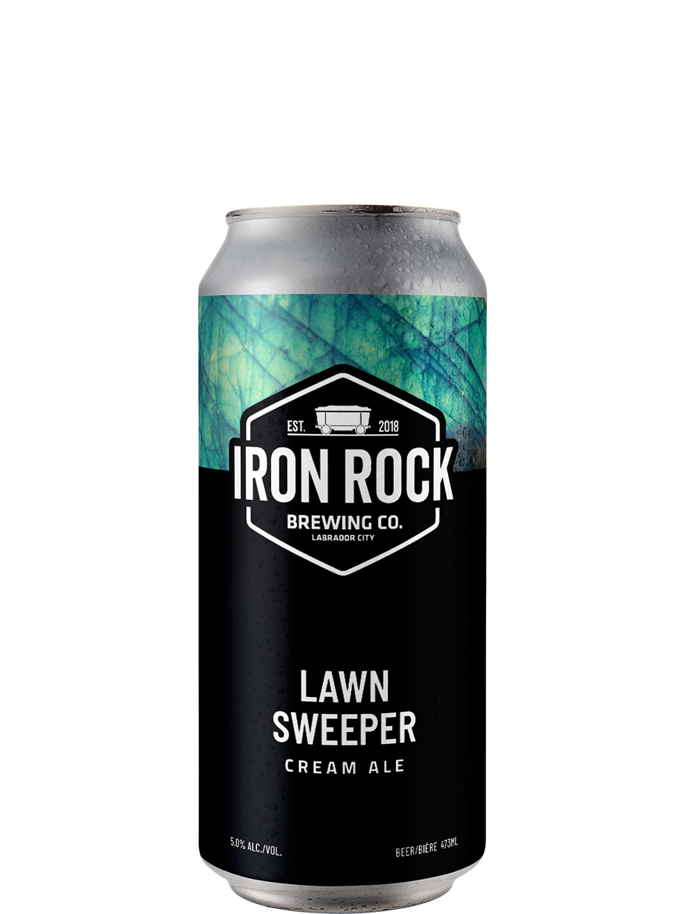 Iron Rock Brewing Co Lawn Sweeper Cream Ale 473ml