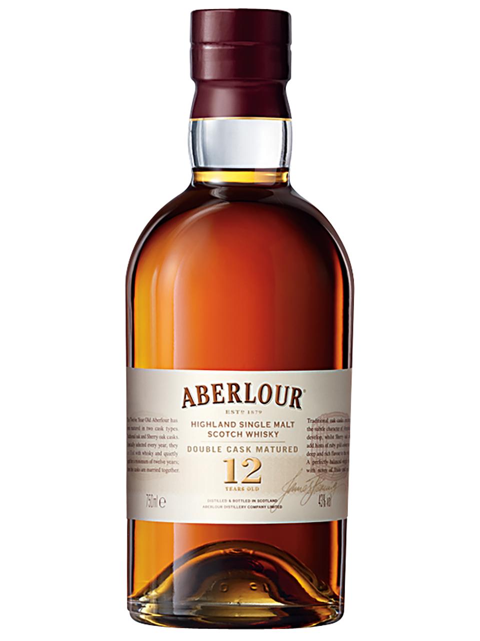 Aberlour 12 YO Double Cask Single Malt Scotch