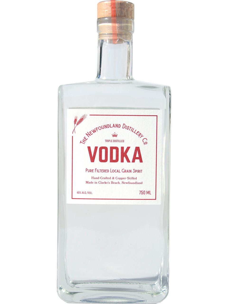 The Newfoundland Distillery Co. Vodka