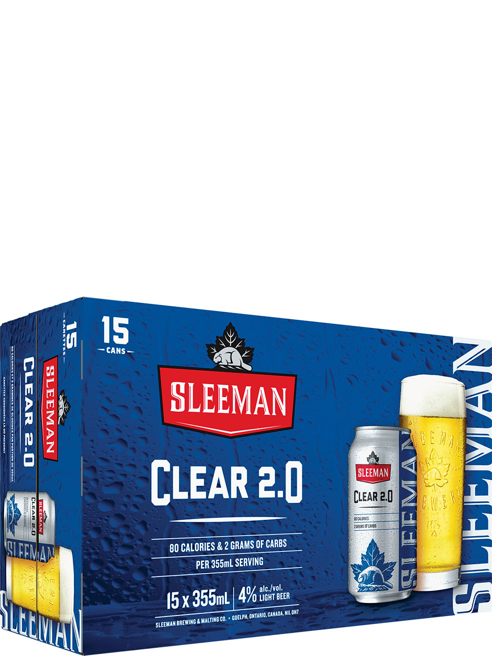 Sleeman Clear 2.0 15 Pack Cans