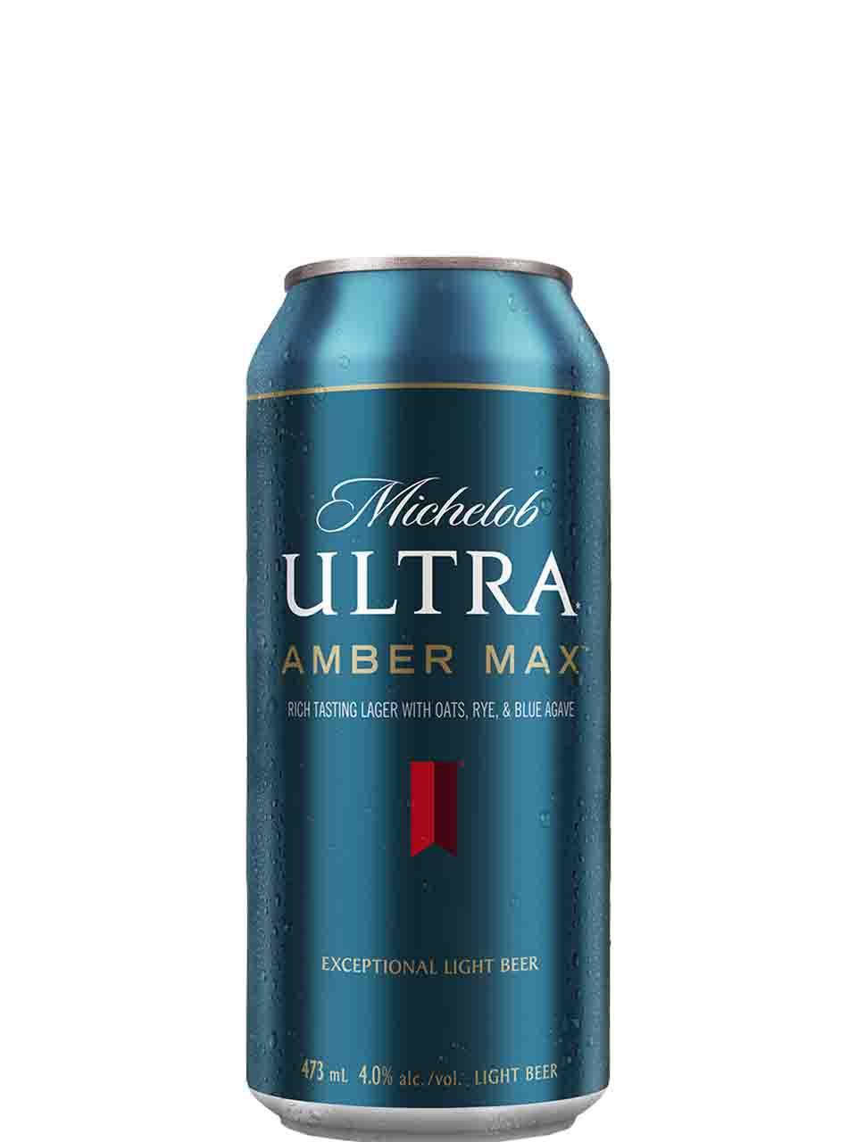 Michelob Ultra Amber Max 473ml Can
