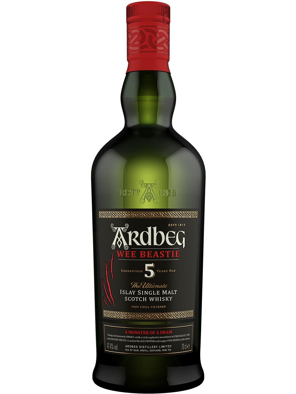 Ardbeg Wee Beastie 5YO Single Malt Scotch Whisky