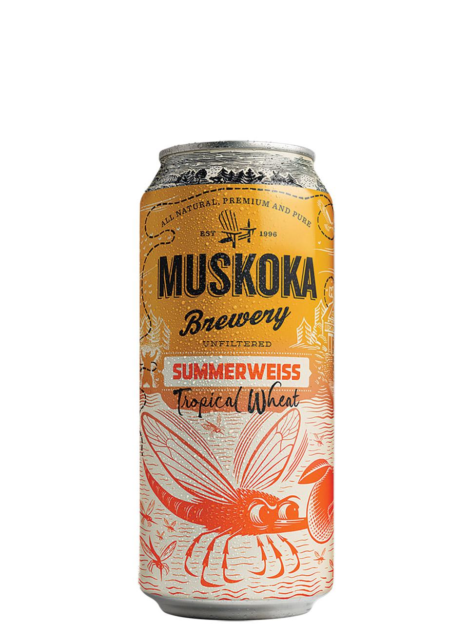 Muskoka Summerweisse Tropical Wheat 473ml Can