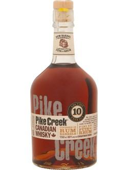 Pike Creek Double Barreled Canadian Whisky