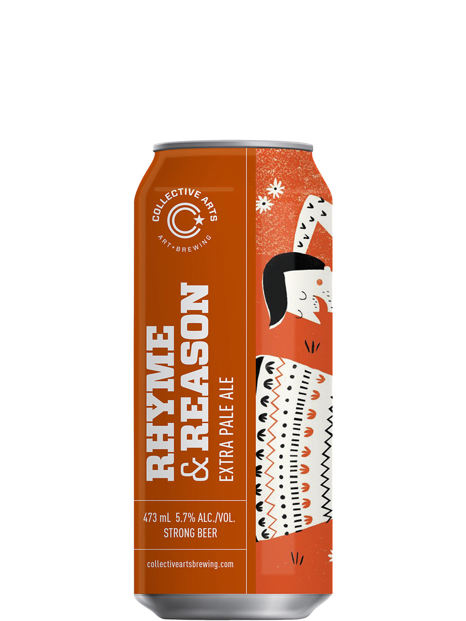 Collective Arts Rhyme and Reason Extra Pale Ale