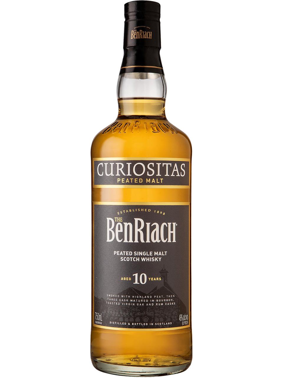 BenRiach 10YO Single Malt Scotch Whisky
