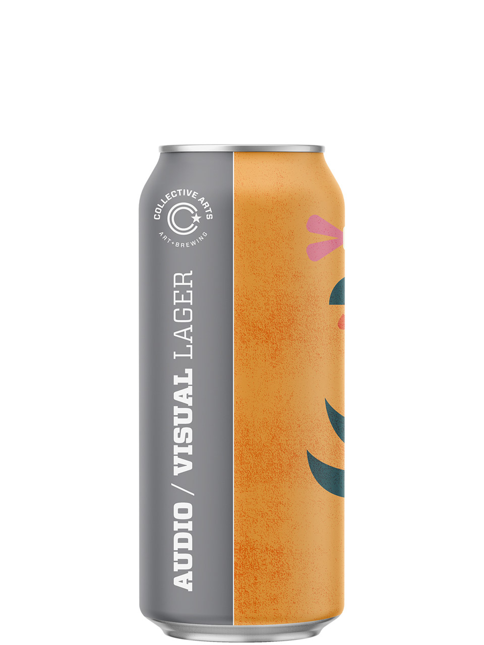 Collective Arts Audio Visual Lager 473ml Can