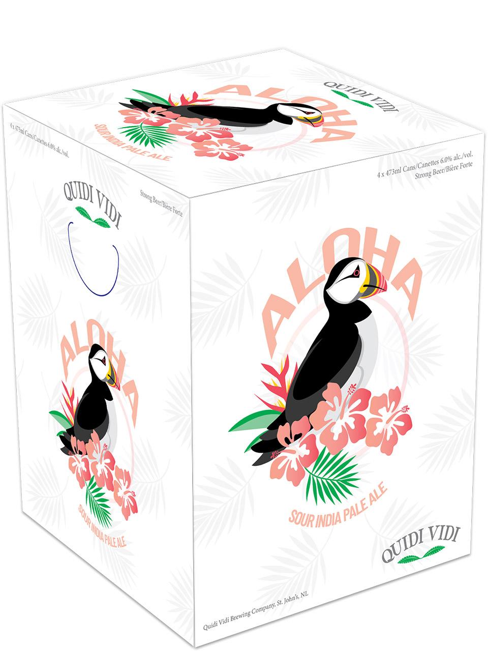 Quidi Vidi Aloha Sour IPA 4 Pack Cans