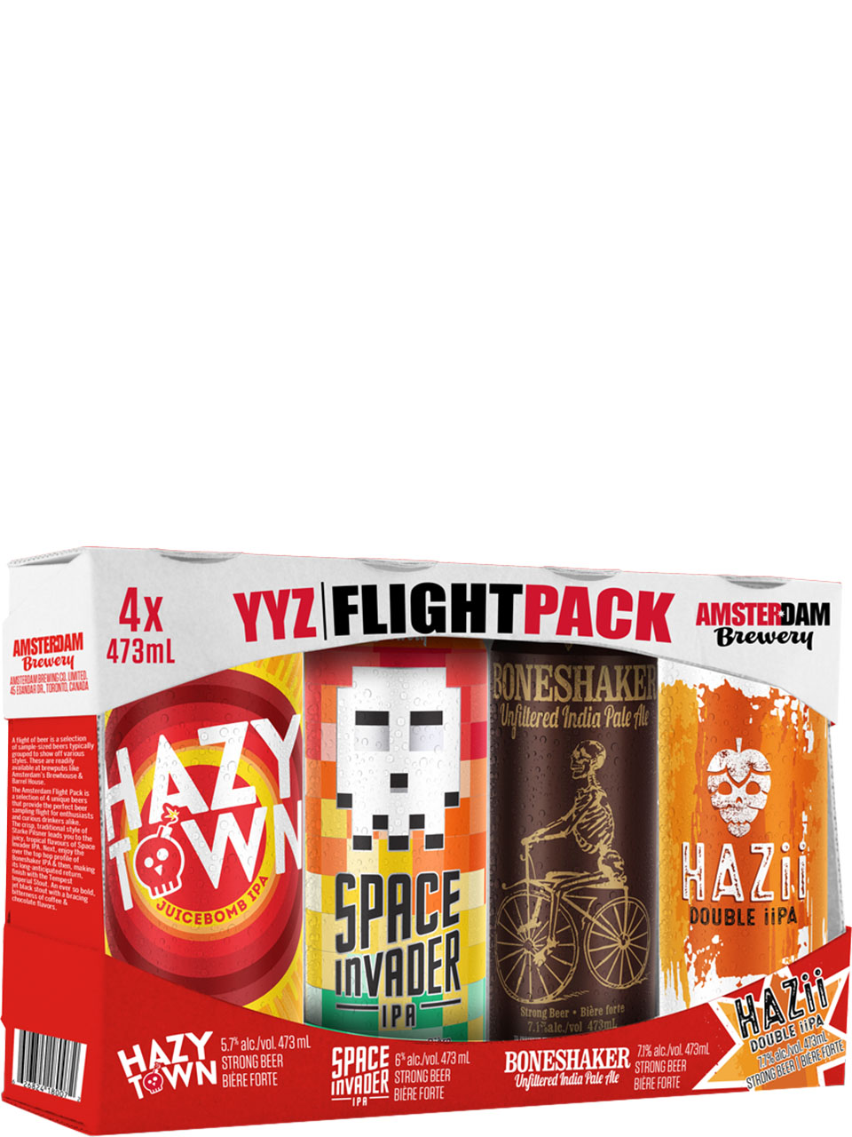 Amsterdam Flight Pack 4 Pack