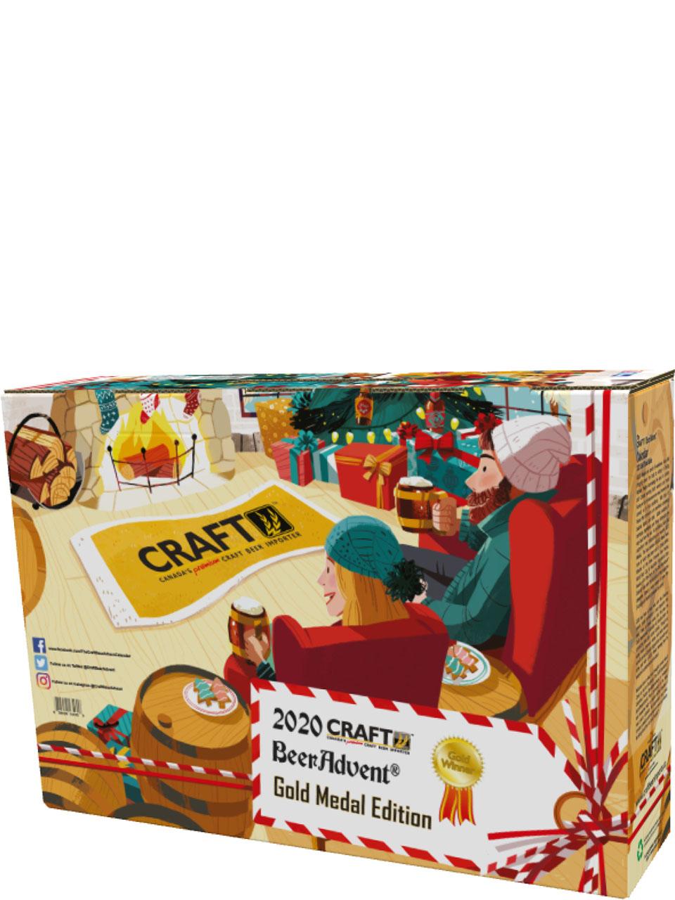 Craft BeerAdvent Calendar 2020 Gold Medal Edition