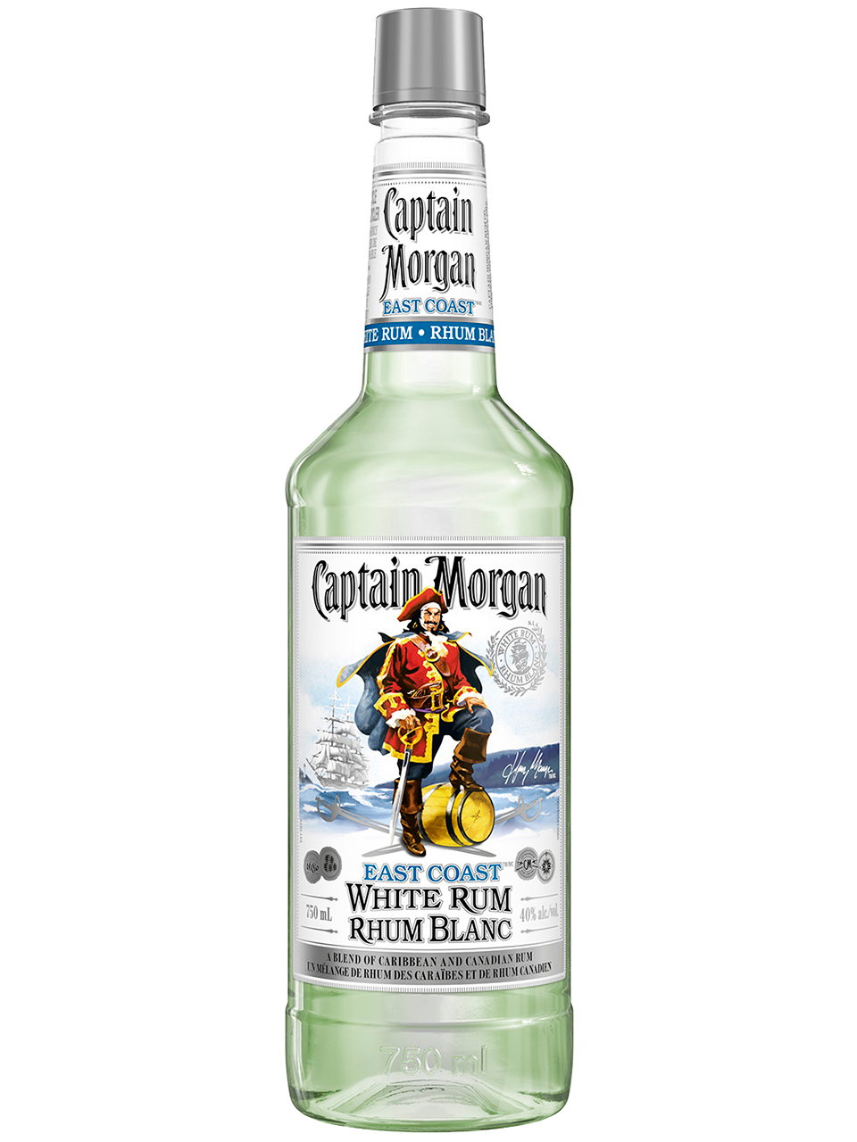 Captain Morgan East Coast White Rum PET