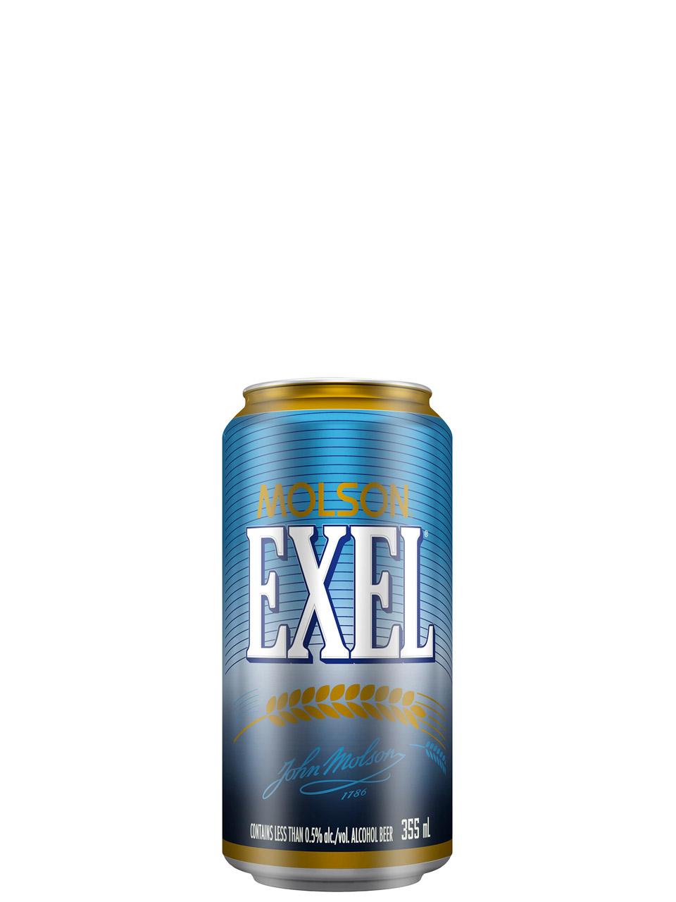 Molson Exel Low-alc.12pk Cans