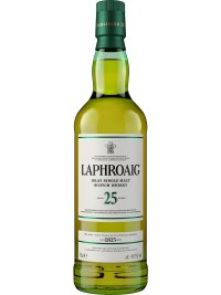 Laphroaig 25 Year Old Single Malt Scotch Whisky