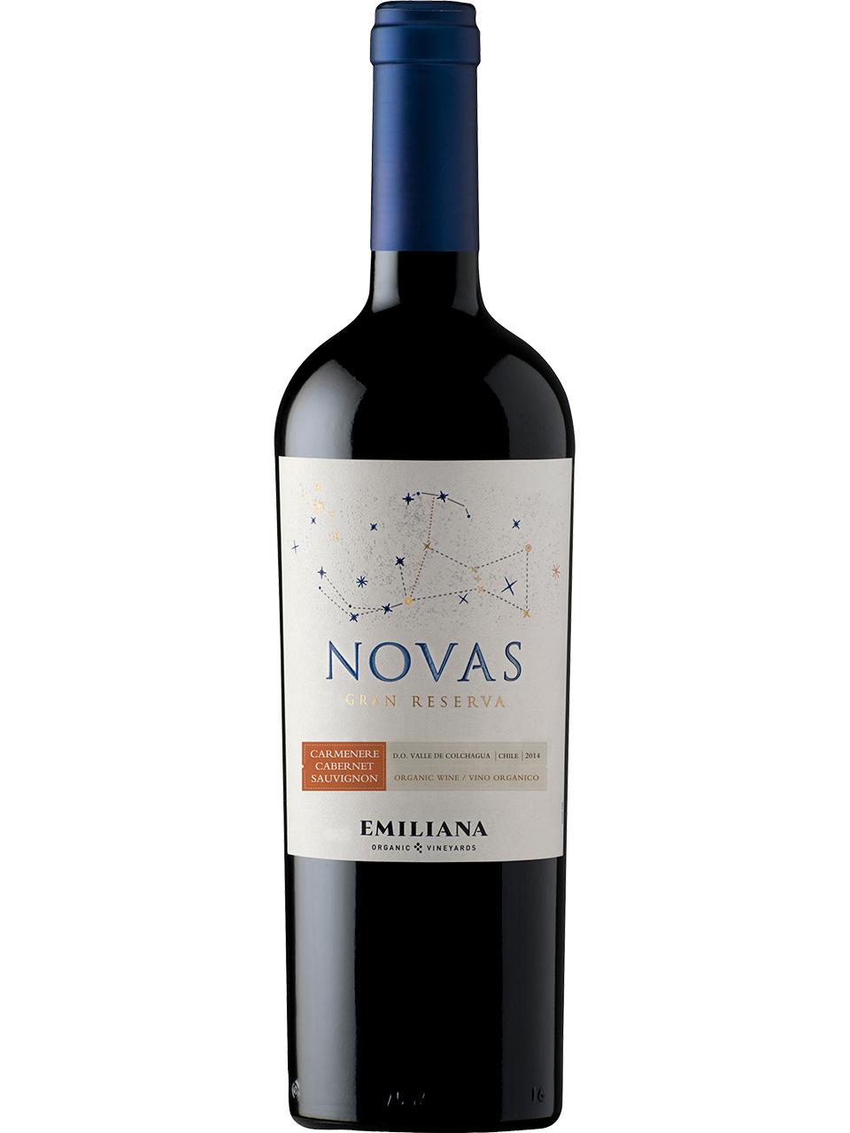 Novas Carmenere/Cabernet Sauvignon