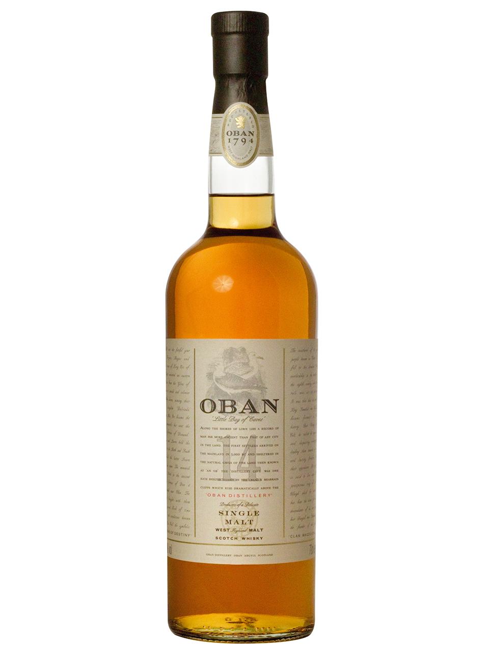 Oban 14 Year Old Single West Highland Scotch