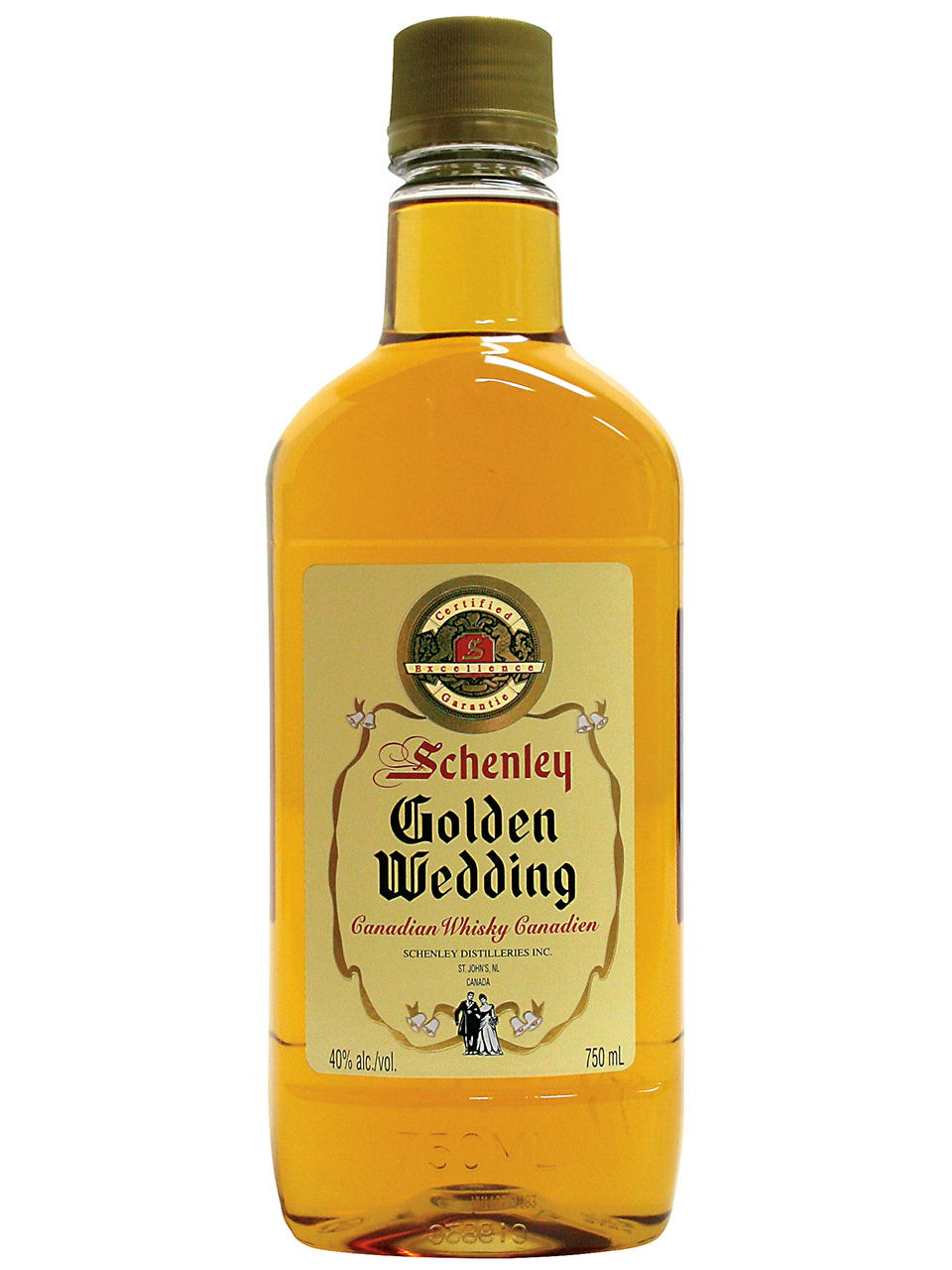 Golden Wedding Whisky PET