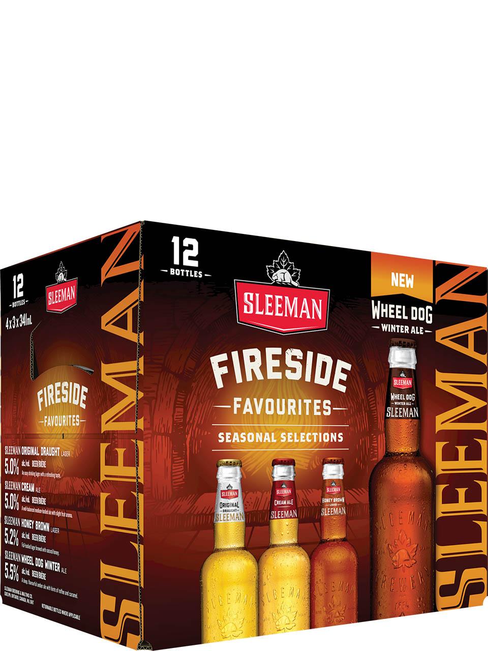 Sleeman Fireside Favourites 12 Pack Bottles