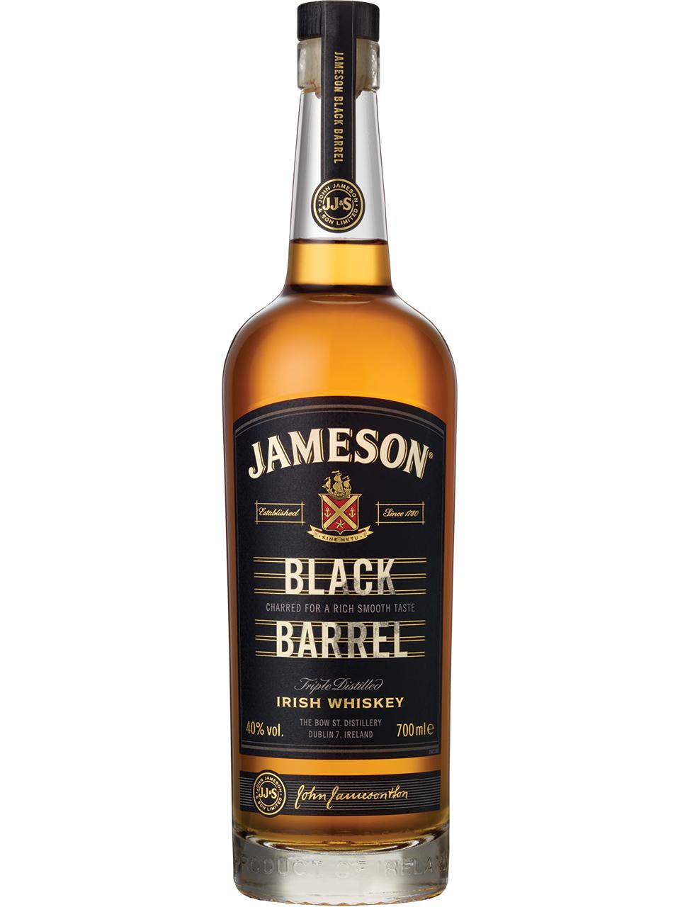 Jameson Black Barrel Irish Whiskey