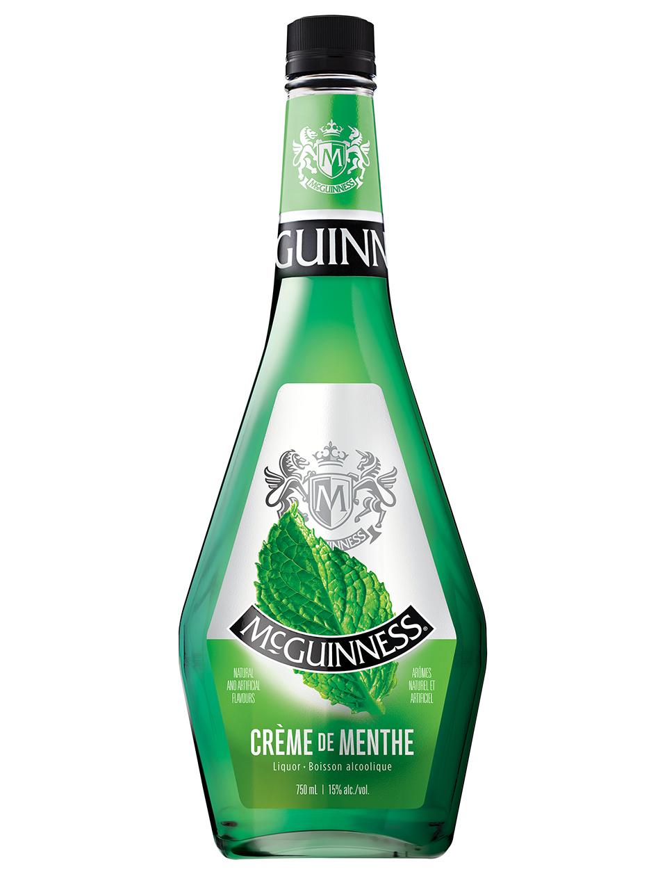 McGuinness Creme de Menthe Green