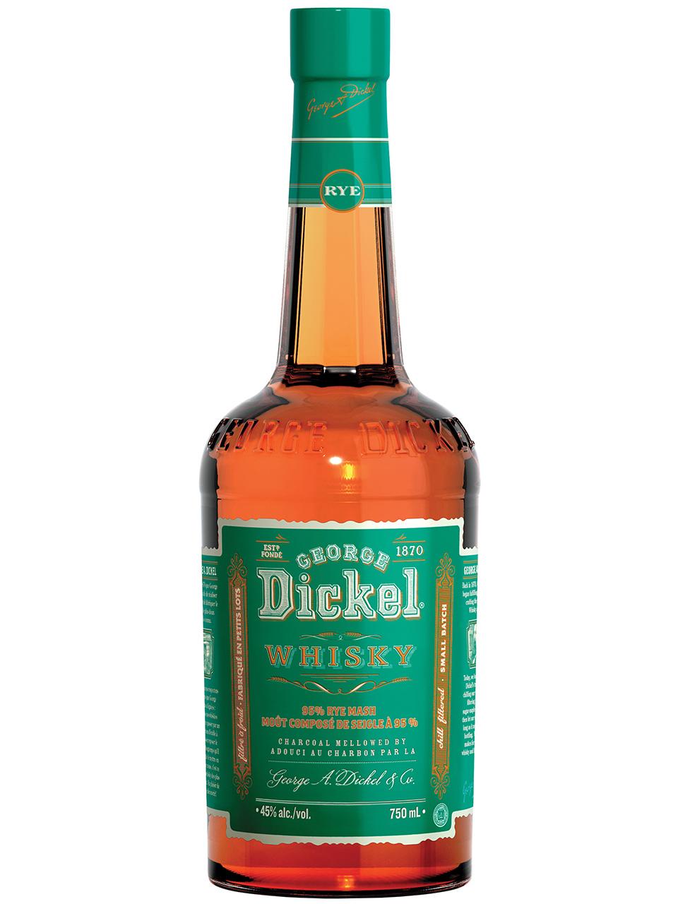 George Dickel Tennessee Rye Whisky