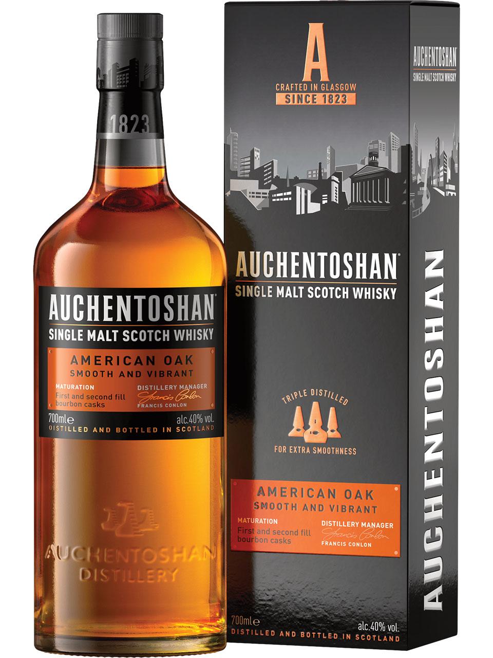 Auchentoshan American Oak Single Malt Scotch Whisk