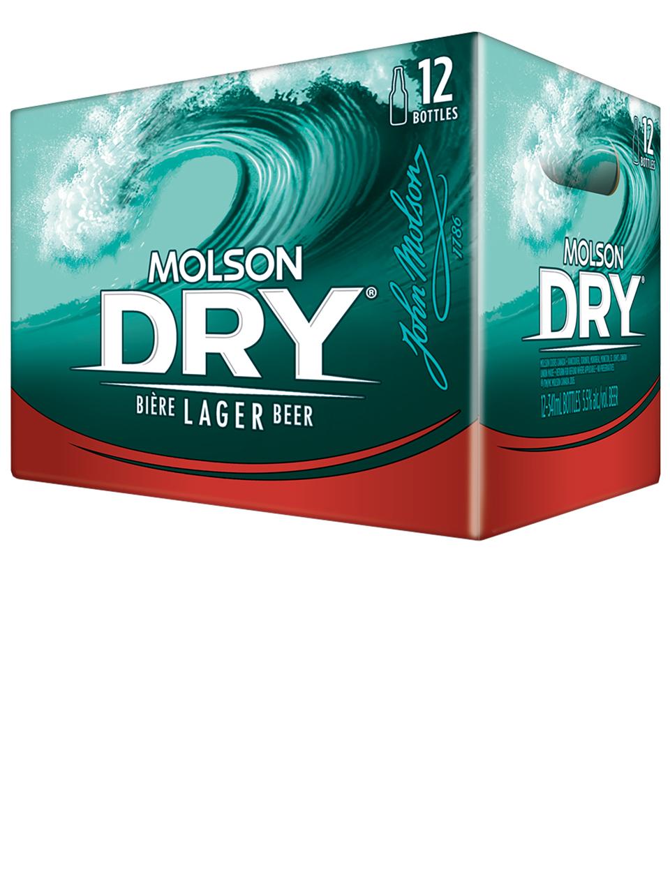 Molson Special Dry Btls 12pk