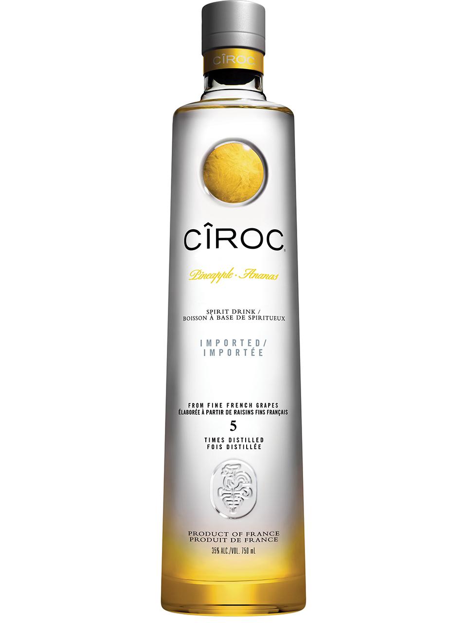 CIROC Pineapple Vodka