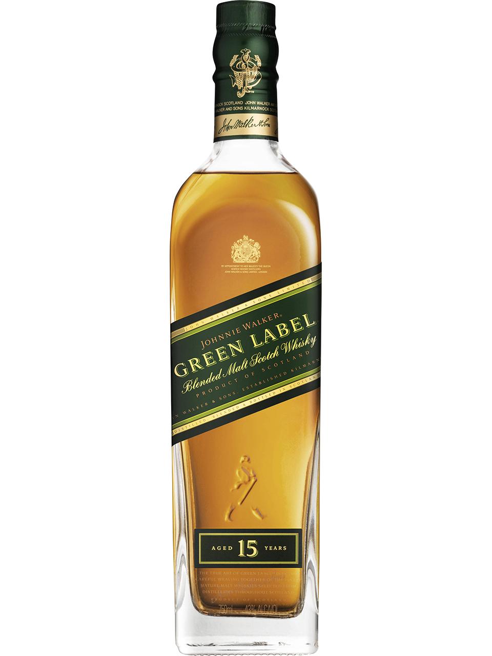 Johnnie Walker Green Label 15 YO Scotch Whisky