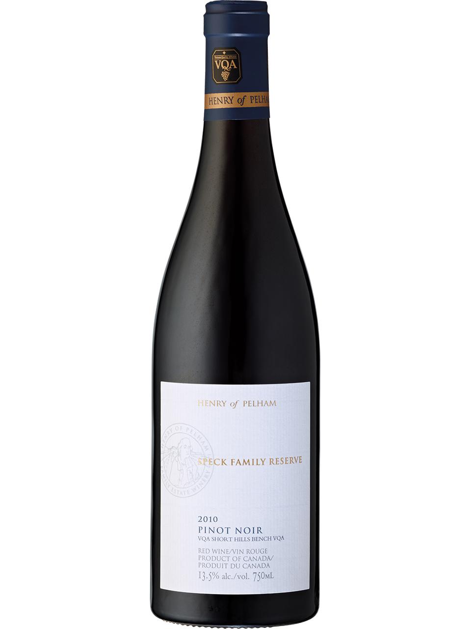 Henry of Pelham Speck Family Reserve Pinot Noir