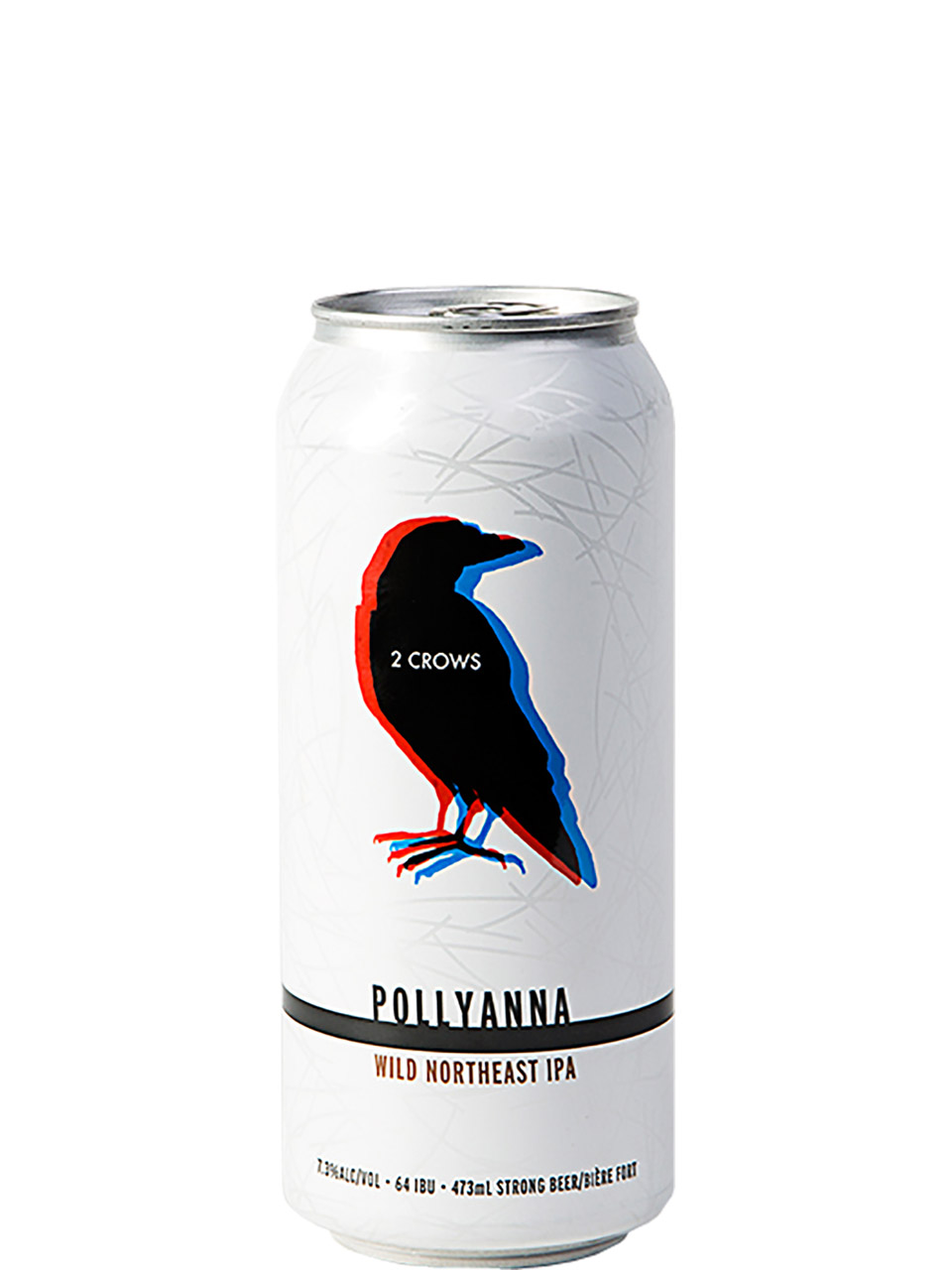 2 Crows Pollyanna Wild Northeast IPA 473ml Can
