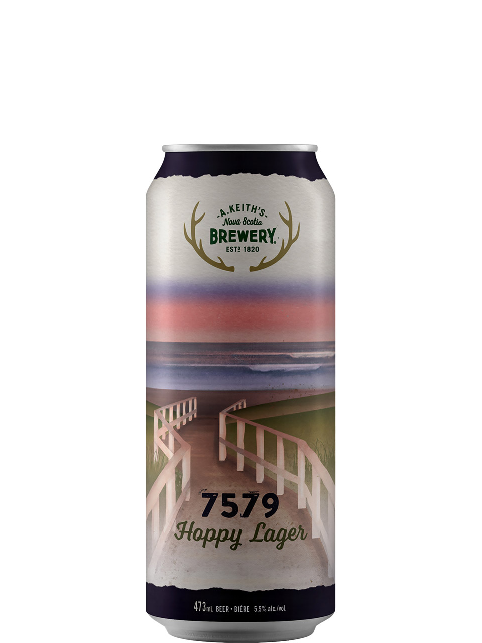 Alexander Keith's 7579 Hoppy Lager 4 Pack Cans