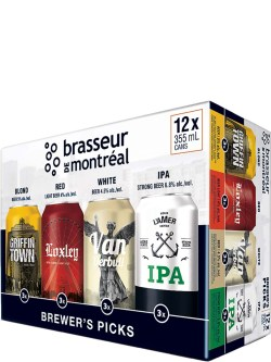 Brasseur De Montreal Brewer's Selection Mix 12pk