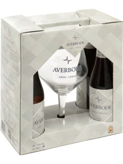 Averbode Blond 4 Pack Btls with Collectors Glass