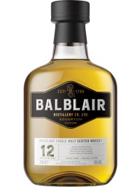Balblair Highland 12YO Single Malt Scotch Whisky