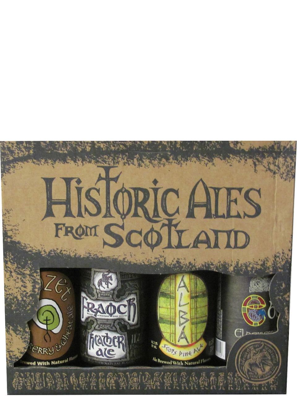 Williams Bros. Historic Scottish Ales Mix 4pk Btls