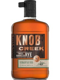 Knob Creek Twice Barreled Rye Whiskey