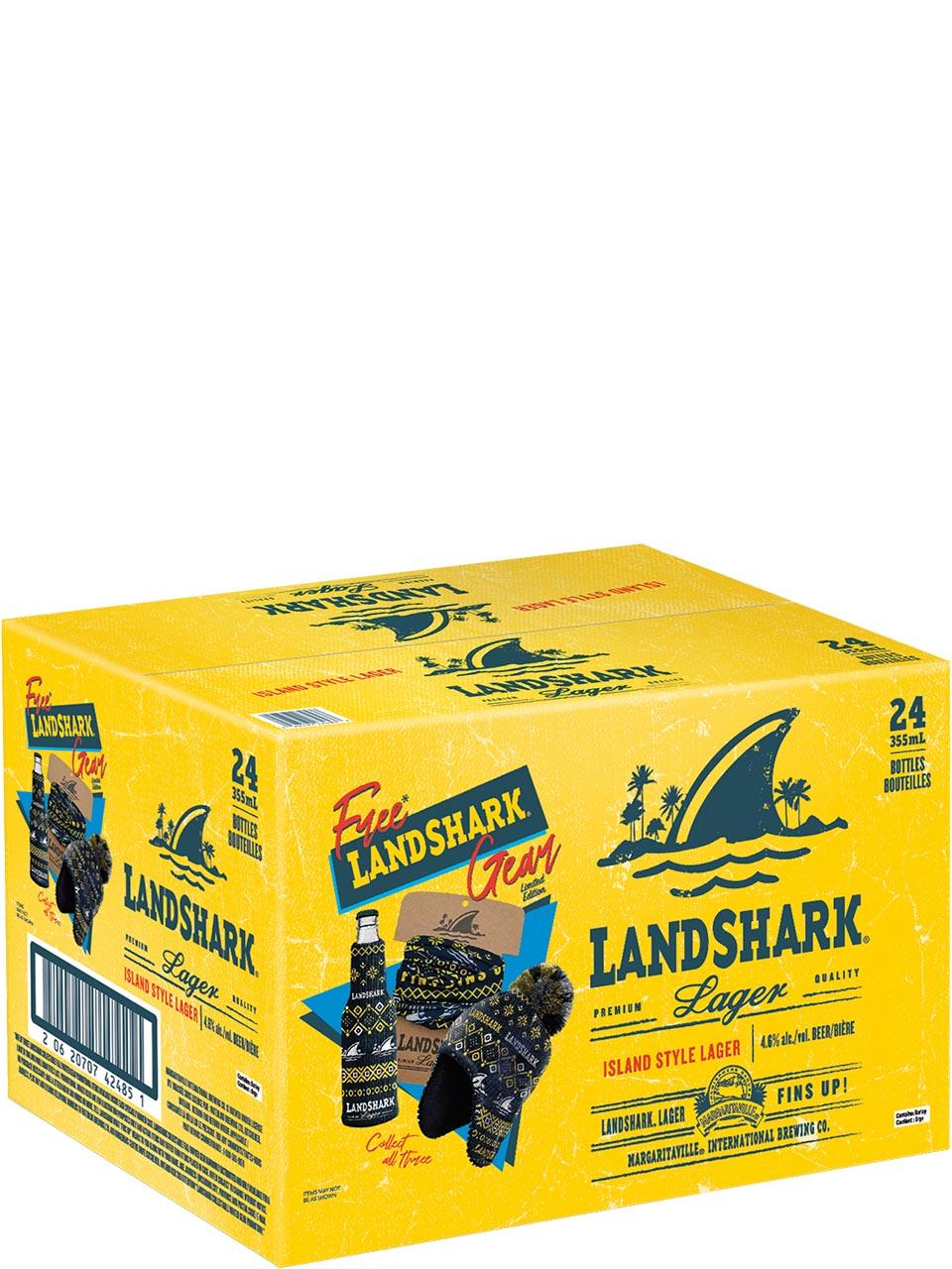 Landshark Premium Lager Promo Pack 24pk Bottles