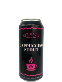 Quidi Vidi Cappucino Stout 473ml Can