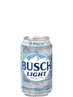 Busch Light 8 Pack Cans
