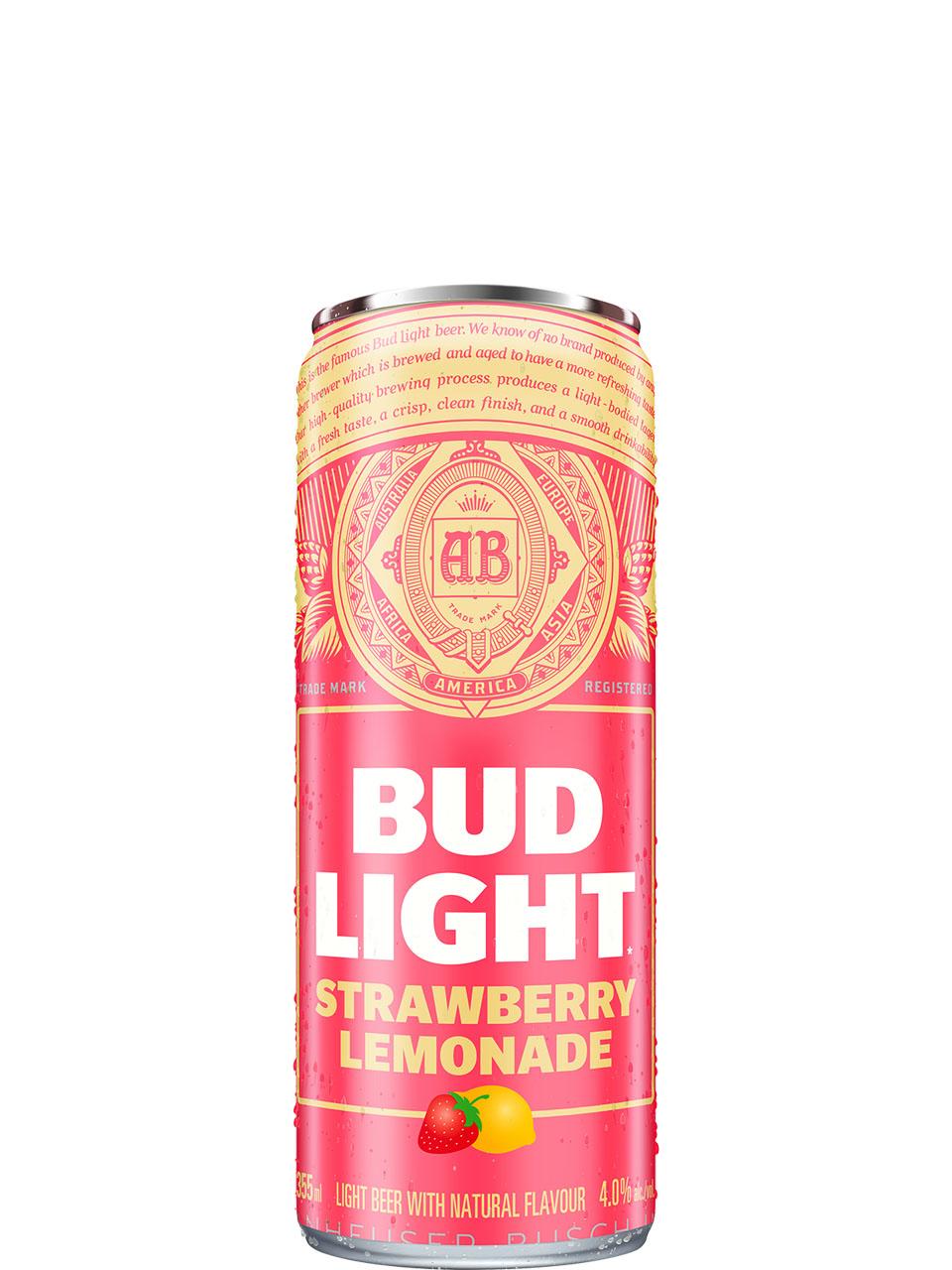 Bud Light Strawberry Lemonade 473ml Can