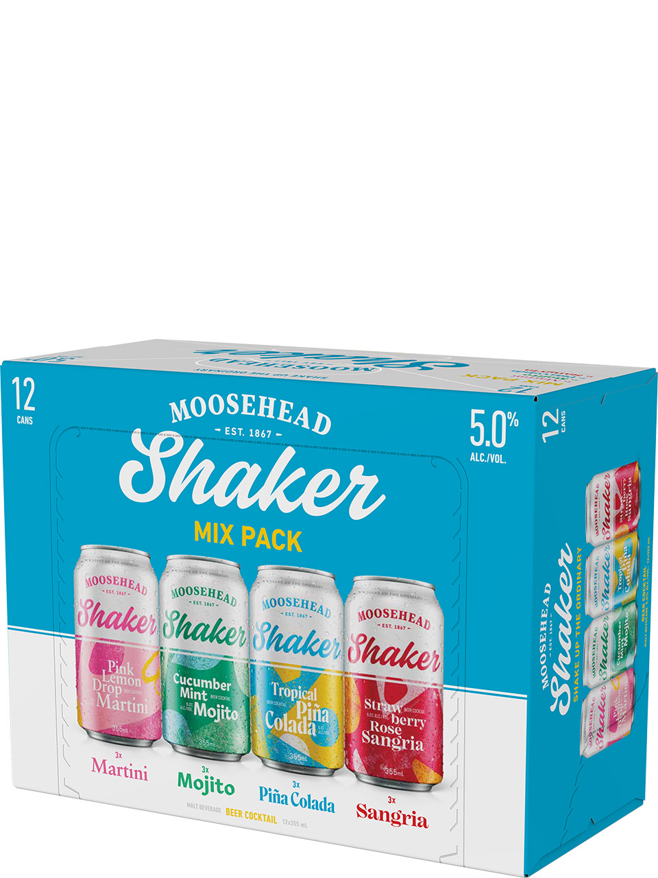Moosehead Shaker Mix Pack 12pk Cans