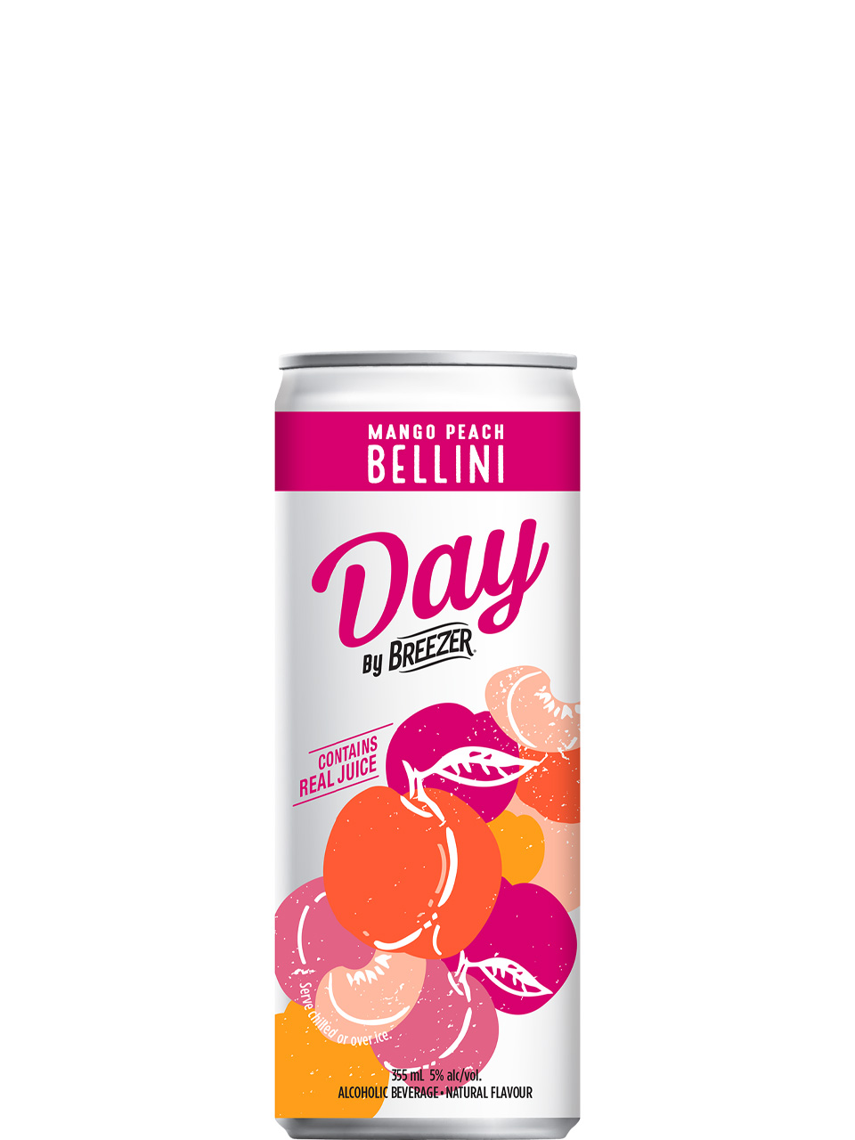 Breezer DAY Mango Peach Bellini 6 Pack Cans
