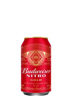 Budweiser Nitro Gold 12 Pack Cans