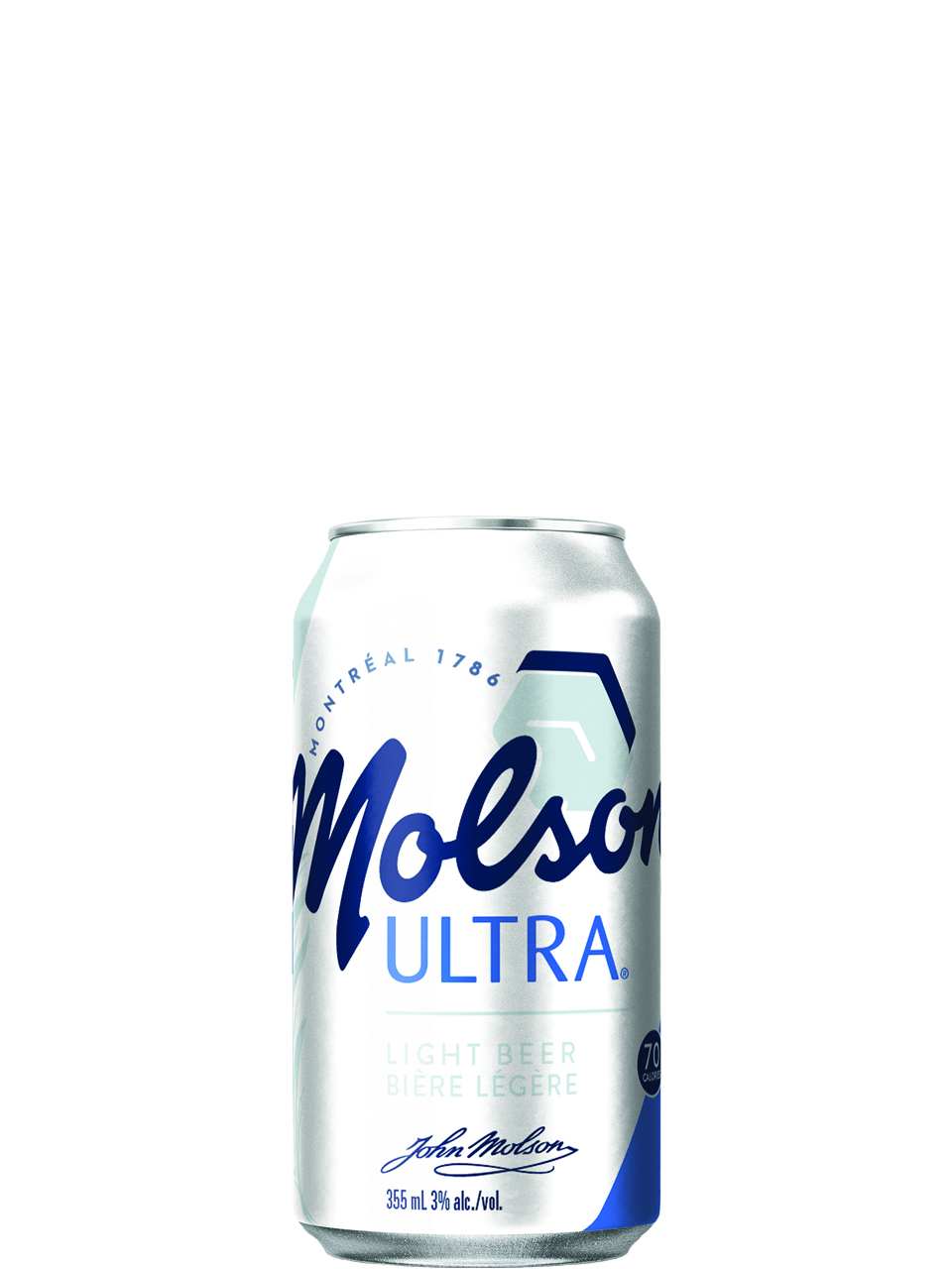 Molson Ultra 15 Pack Cans