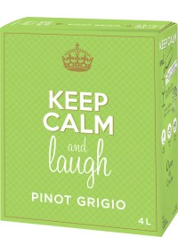 Keep Calm & Laugh Pinot Grigio