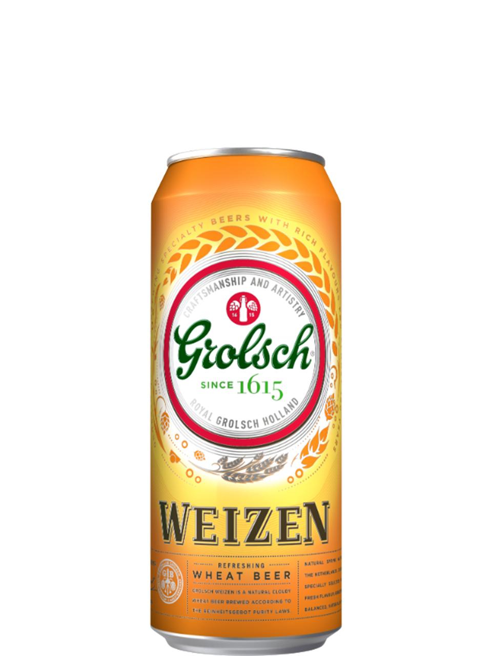 Grolsch Weizen 4 Pack Cans