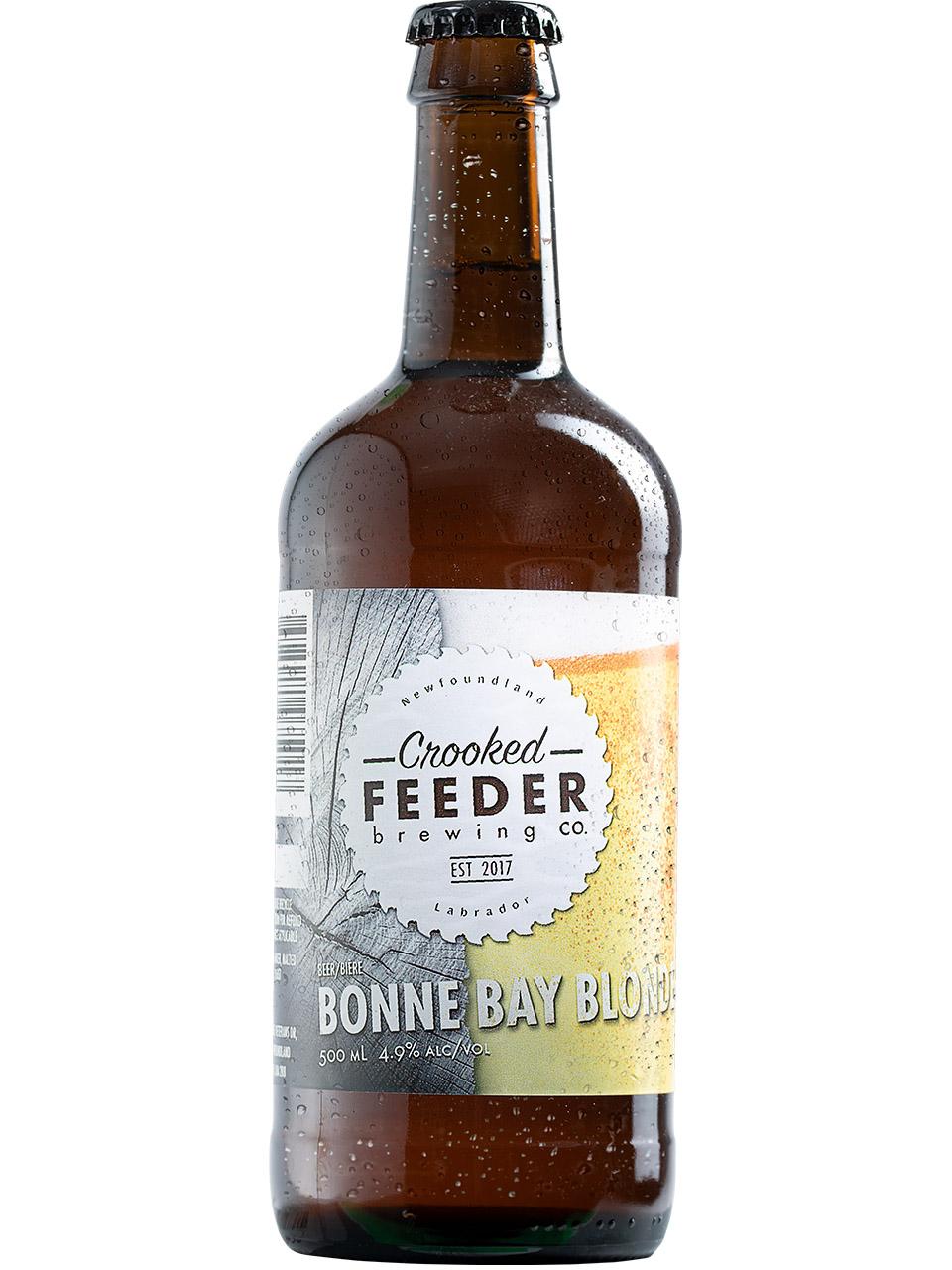 Crooked Feeder Bonne Bay Blonde 500ml Bottle