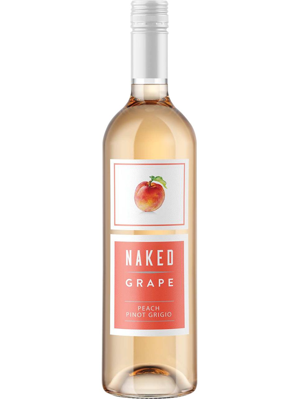 Naked Grape Peach Pinot Grigio