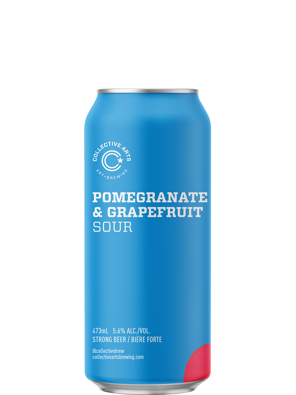 Collective Arts Pomegranate & Grapefruit Sour